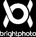 logo brightphoto pionowe